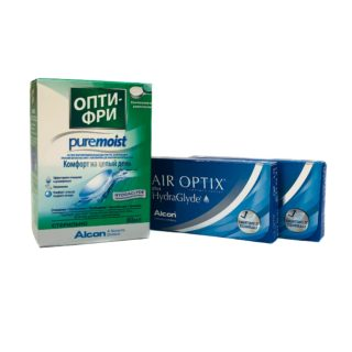 1+1 Air Optix HG(6) + Air Optix HG(3)